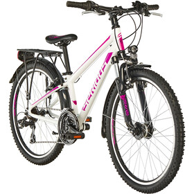 "Serious Rockville Street Juniorcykel Barn 24"" pink/vit"